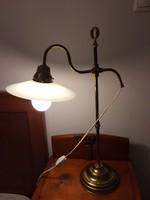 Réz bank lámpa