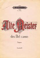 Alte Meister des Bel canto Sopran (RITKA) 3000 Ft