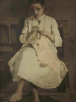 Vidovszky Béla (1883-1973) : Varró lány