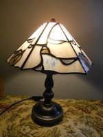 Karácsonyra!Tiffany éjjeli lámpa.Hibátlan.Szép darab.
