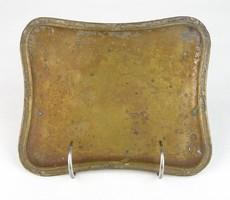0U130 Antik W.M.F. rezezett tálca 15 x 18 cm