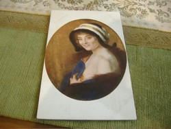 Izabel, antik képeslap