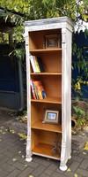 Vintage faragott könyvszekrény, könyves polc 28.000 Ft