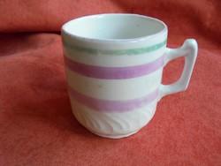Régi porcelán festett csésze
