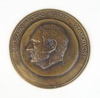 0U112 Dr. Cs. Szabó András bronz plakett
