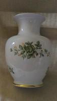 Erika mintás Hollóházi hibátlan váza 18 cm