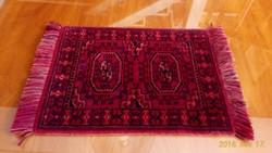 Kézi csomózású gyapjú szőnyeg, terítő