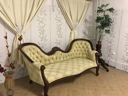 Hattyúnyakas Barokk kanapé szófa
