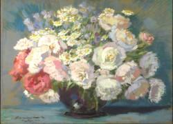 Thorma Jánosné, Kiss Margit : Virágok vázában 1943