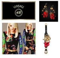 Eredeti Versace ékszer szett karkötő és fülbevaló