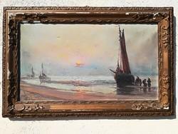 1913 Kárpáthy Jenő festmény.