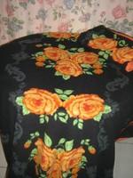 Gyönyörű rózsás vintage pihe-puha ágyneműgarnitúra