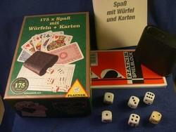 Tarokk + Römi  2 pakli  + Skat kártyacsomag