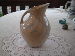 Zsolnay - Török János tervezte  váza  , színében ritka ,