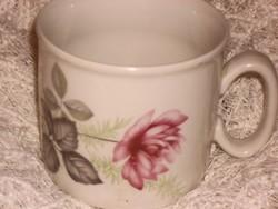 Zsolnay rózsás csésze