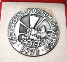 Közlekedési Múzeum Budapest plakett