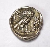 Athéni tetradrachma gyűjtői replika