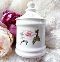 Angol porcelán nagy (fűszer)tartó