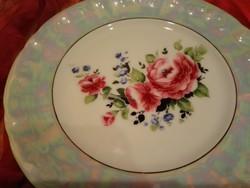 Eozin mintás porcelán kínáló tányér.