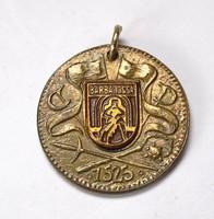 Barbarossa 1525, Német érem,medál.