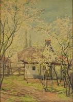 0U207 Járossy Gyula : Tavaszi virágzás 1948