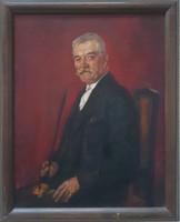 Boldizsàr Istvàn 1931-es Nagybànyai portrè 100x80 cm
