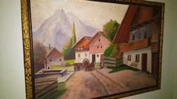 Retro festmény