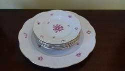 Herendi porcelán süteményeskészlet
