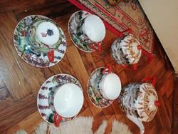Antik kínai porcelán teás készlet hibátlanok a képeken látható állapotban vannak