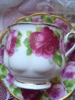 Royal Albert (Old English Rose )  nagyobb méretű kávés csésze szett
