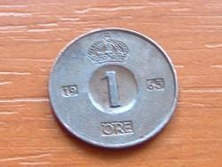 SVÉD 1 ŐRE 1965  U