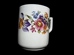 Zsolnay ritkább nőszirmos csésze 42.