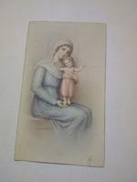 Antik  Mária kegykép imakönyvbe 1942.
