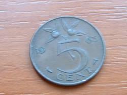 HOLLANDIA 5 CENT 1963