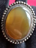 Sárga kvarc gyűrű - Ősz
