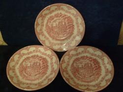 Angol,buckinghamshire kastélyt ábrázoló tányérok vitrintárgy minőség hibátlan