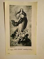Ima a Szent Szűzhöz Murilló Mária