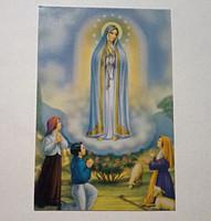 Fatimai Szűz Mária imakép és fohász