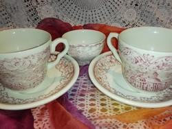 Angol ,jelenetes porcelán teázó,kávézó...2 személyes.