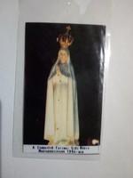 A csodatévő Fatimai Szűzanya