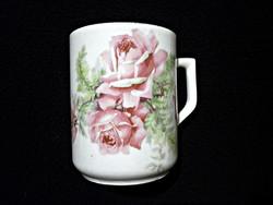 Zsolnay rózsás csésze 23.