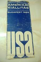 AZ ELSŐ AMERIKAI KIÁLLÍTÁS: A BP-I NEMZETKÖZI KIÁLLÍTÁS, 1965