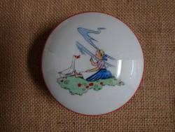 Drasche kis porcelán bonbonier, dobozka
