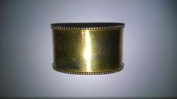 Antik ezüstözött szalvéta gyűrű