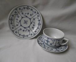 Bavaria reggeliző készlet,teás csésze,süteményes tányér