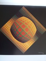 Vasarely grafika