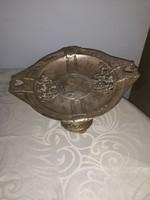 Aantik  asztal közép   ezüstözött    1800 évek  vége  1900 eleje  28  cm   17  magas