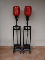 Tradicionális kínai lámpa pár.