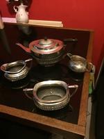 Angol ezüstözött kávèskèszlet