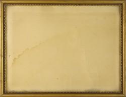 0U249 Régi aranyozott vágható képkeret 25 x 33 cm